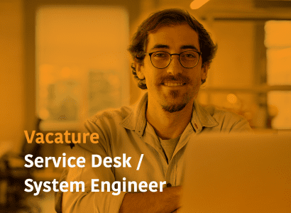 vacature system engineer service desk